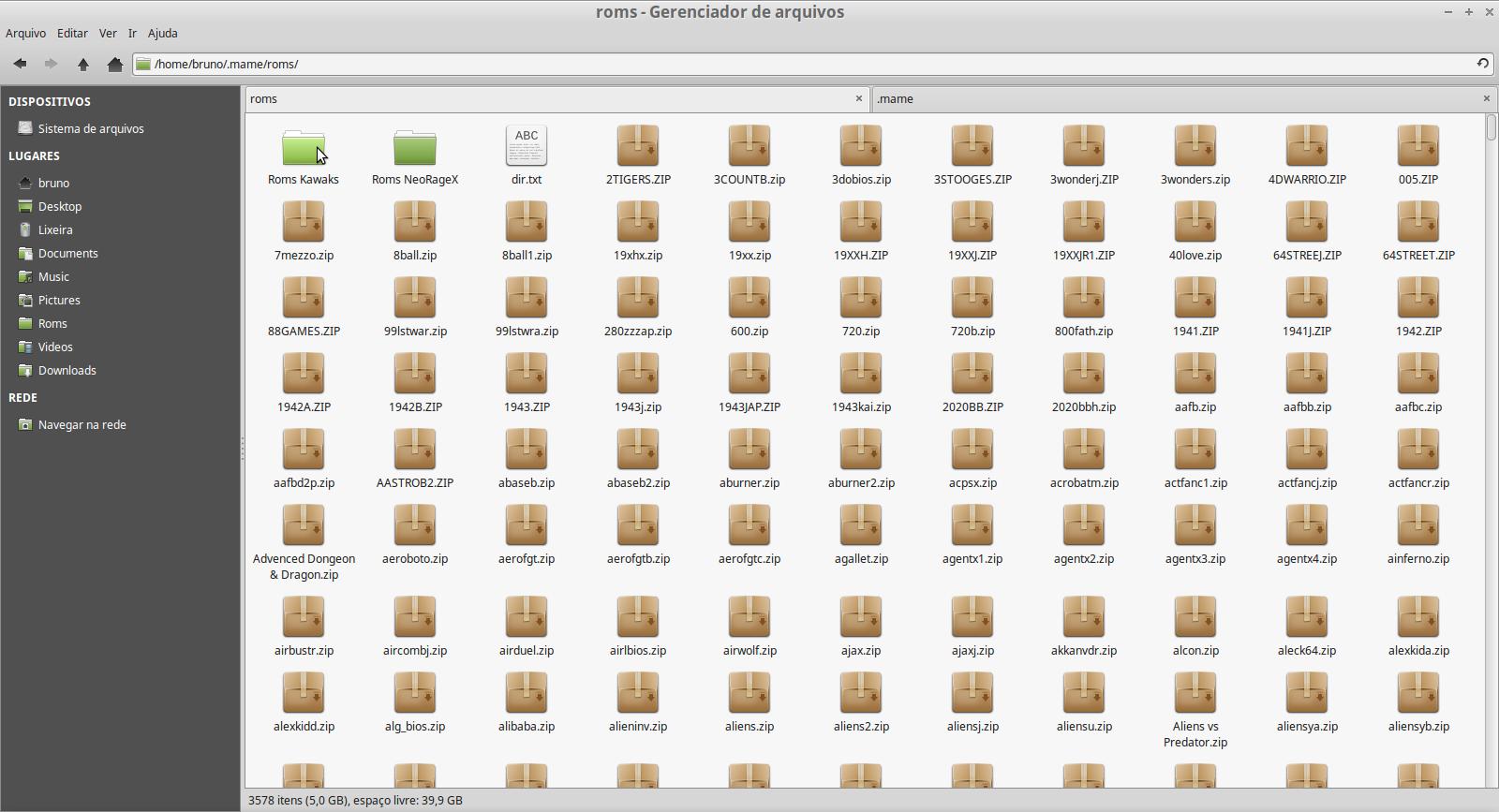 Emulador Mame no Linux -
