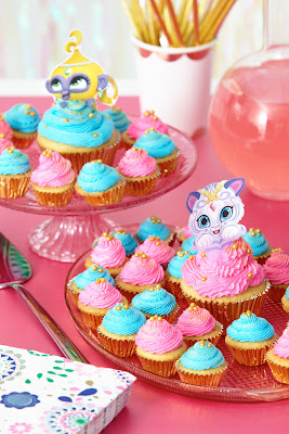 free Shimmer and Shine cupcake toppers