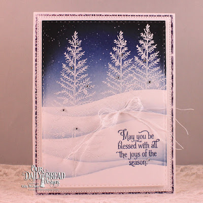 Our Daily Bread Designs Stamp Set: Joys of the Season, Our Daily Bread Designs Paper Collection: Christmas Card 2016, Our Daily Bread Designs Custom Dies: Double Stitched Rectangles, Flourished Star Pattern