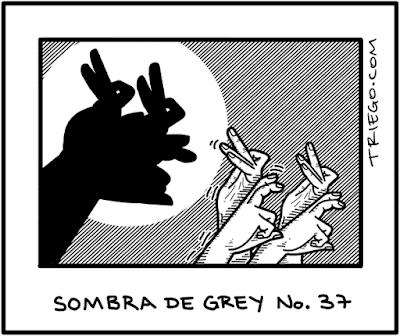 Meme de humor sobre 50 sombras de Grey