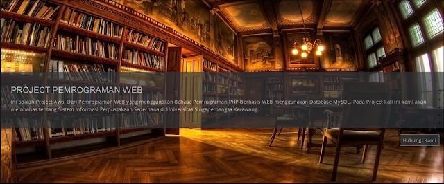 perpus - Source Code Sistem Isu Perpustakaan Berbasis Web