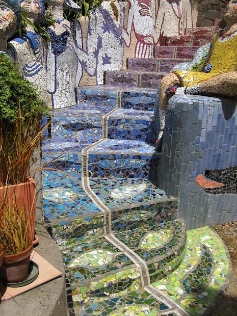 Mosaic Garden Sculpture