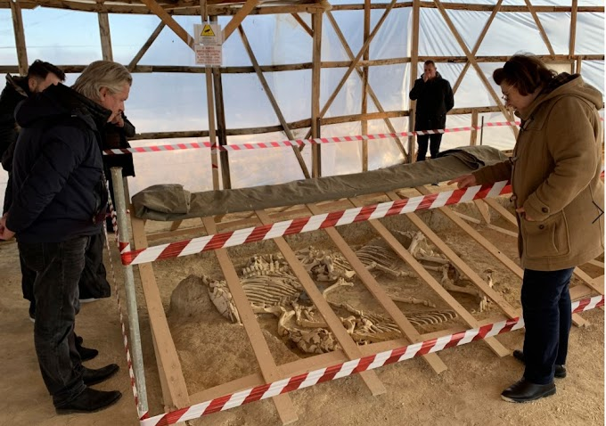 Σύνολο μεγάλης αρχαιολογικής και ιστορικής αξίας το εύρημα της Δοξιπάρας