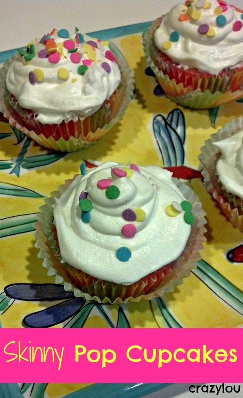 Skinny Pop Cupcakes