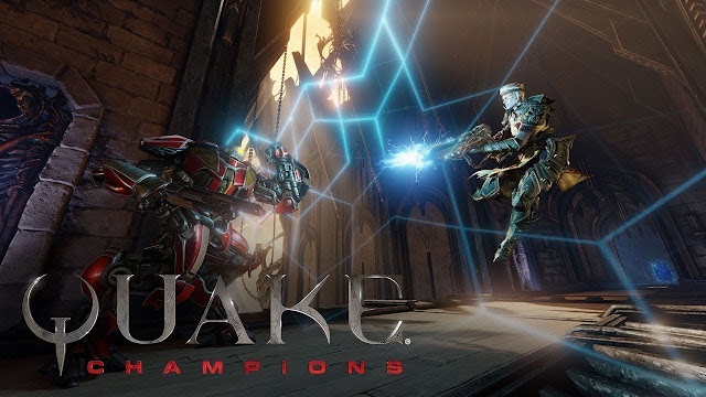 """Quake® Champions"" Hot game bắn súng co-op 2018"
