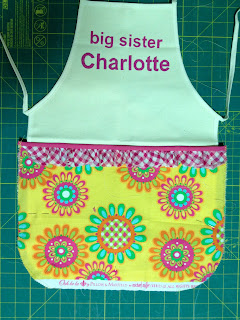 how to add a pocket to kids apron