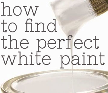Then You Might Want The Advice Of Some Diy Design Bloggers Who Have Their Own Favorites So Let S Figure Out How To Find Perfect White Paint