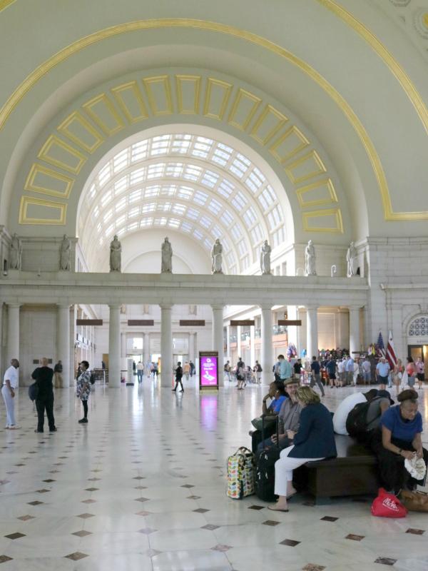 Ein Ausflug nach Washington D.C.und noch ein paar Tage in New York | Union Station