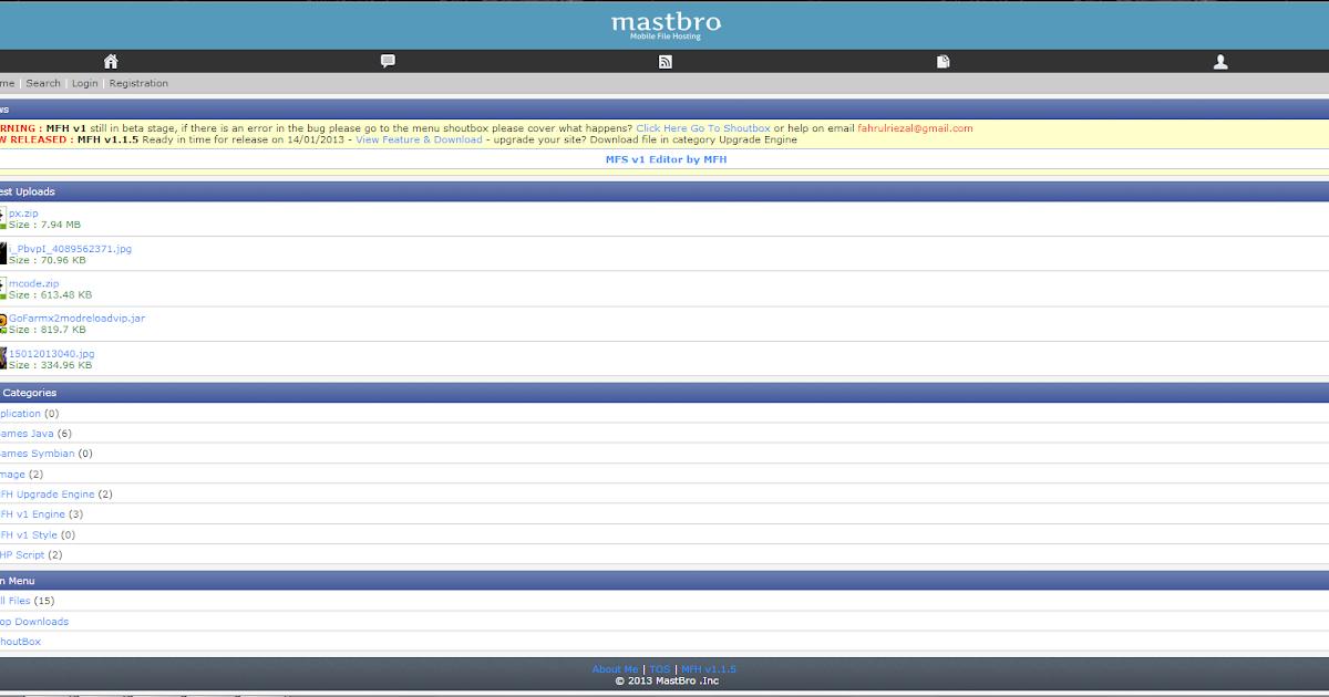 Хостинг мобильных файлов хостинг с установленной instantcms
