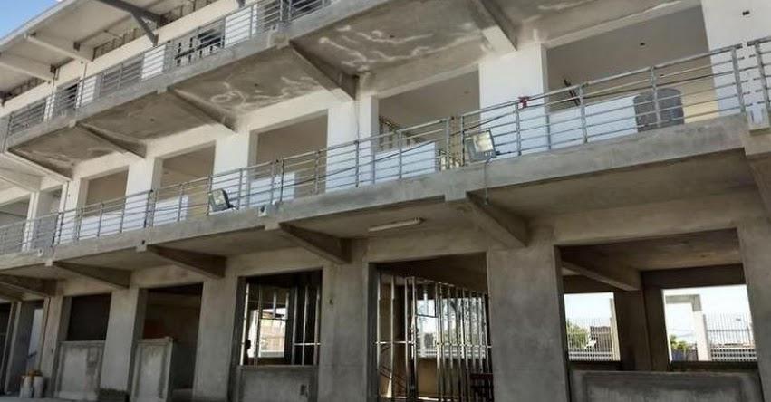 Contraloría identifica riesgos en ejecución de dos colegios emblemáticos de Piura
