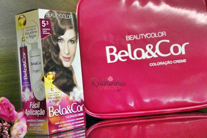 tintura creme bela&cor beautycolor coloração fios cabelos brancos nuances formulaçáo inovadora