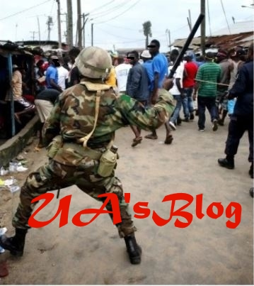 Horror As Soldier Stabs Businessman To Death in Abia