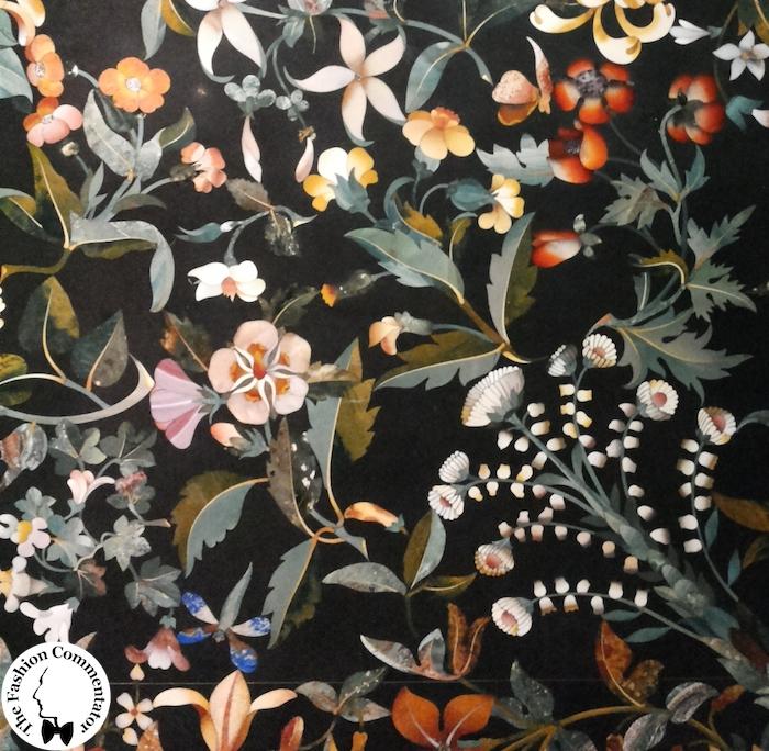 Mostra Jacopo Ligozzi Firenze - Manifattura granducale su modello di Ligozzi, Tavolo dei fiori, 16114-1621