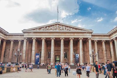 The British Museum. Museu Britânico em Londres