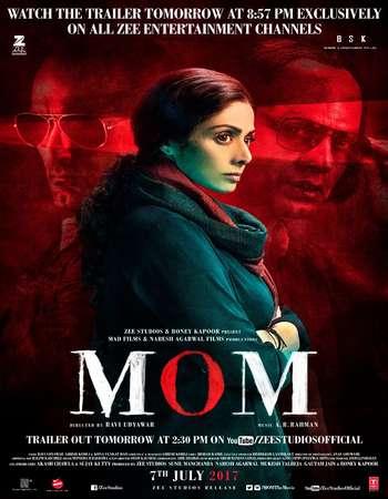 Mom 2017 Hindi 600MB HDTVRip 720p HEVC