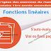 S'auto-évaluer Vrai ou Faux page 191 - Fonctions linéaires