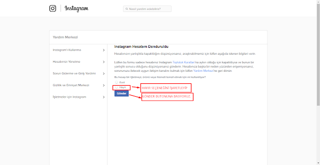 silinen kullanıcı hesabını geri getirme, instagram hesabı geri alma formu, instagram hesabını geri açmak, instagram hesabı geri açma, kapanan instagram hesabı açma formu