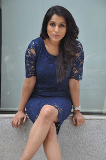 Actress Rashmi Gautam Pictures in Short Dress at tur Talkies Movie Interview  0029