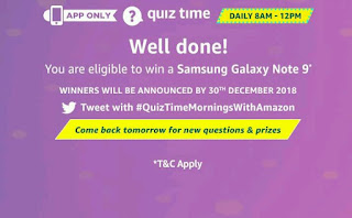 Amazon quiz, Amazon quiz answers, Amazon quiz answers today, Amazon quiz time, Amazon quiz today, Amazon quiz Contest today,