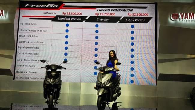 Harga Yamaha FreeGo