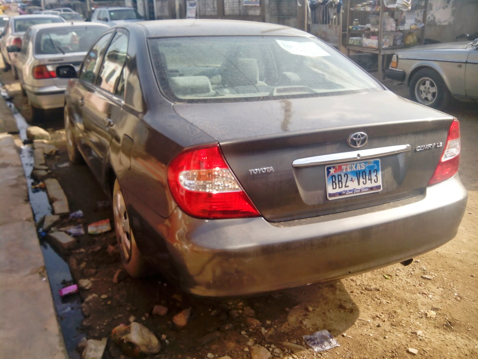 Extra Neat 2004 Model Toyota Camry For Sale At An Affordable Price