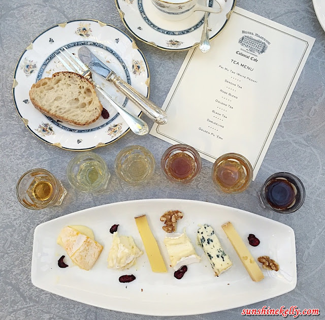 Cheese & Tea Pairing, Smorgasboard, European Cheese,European Cheese platter, Saint Marcelin, Reblochon, Comté, Fourme d'Amber, Brie, Bethmale, Pun Mun Tan, White Peony, Sencha, Green Tea, Rose Blend, Oolong, Darjeling, Golden Pu Erh, Black Tea, cheese & tea pairing at the majestic hotel kl, the majestic hotel kl, Chef Jean-Michel Fraisse