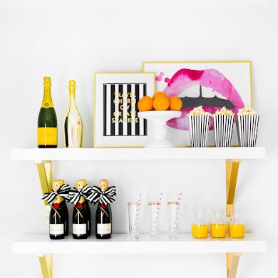 Awesome DIY Bar & Drinks Station Ideas