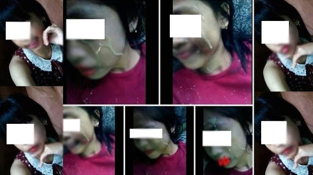 VIRAL, Gadis SMA Posting Foto 'Tak Biasa' di Facebook, Ada Cairan Kental di Wajahnya