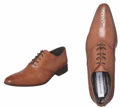 zapatos richelieus color conac
