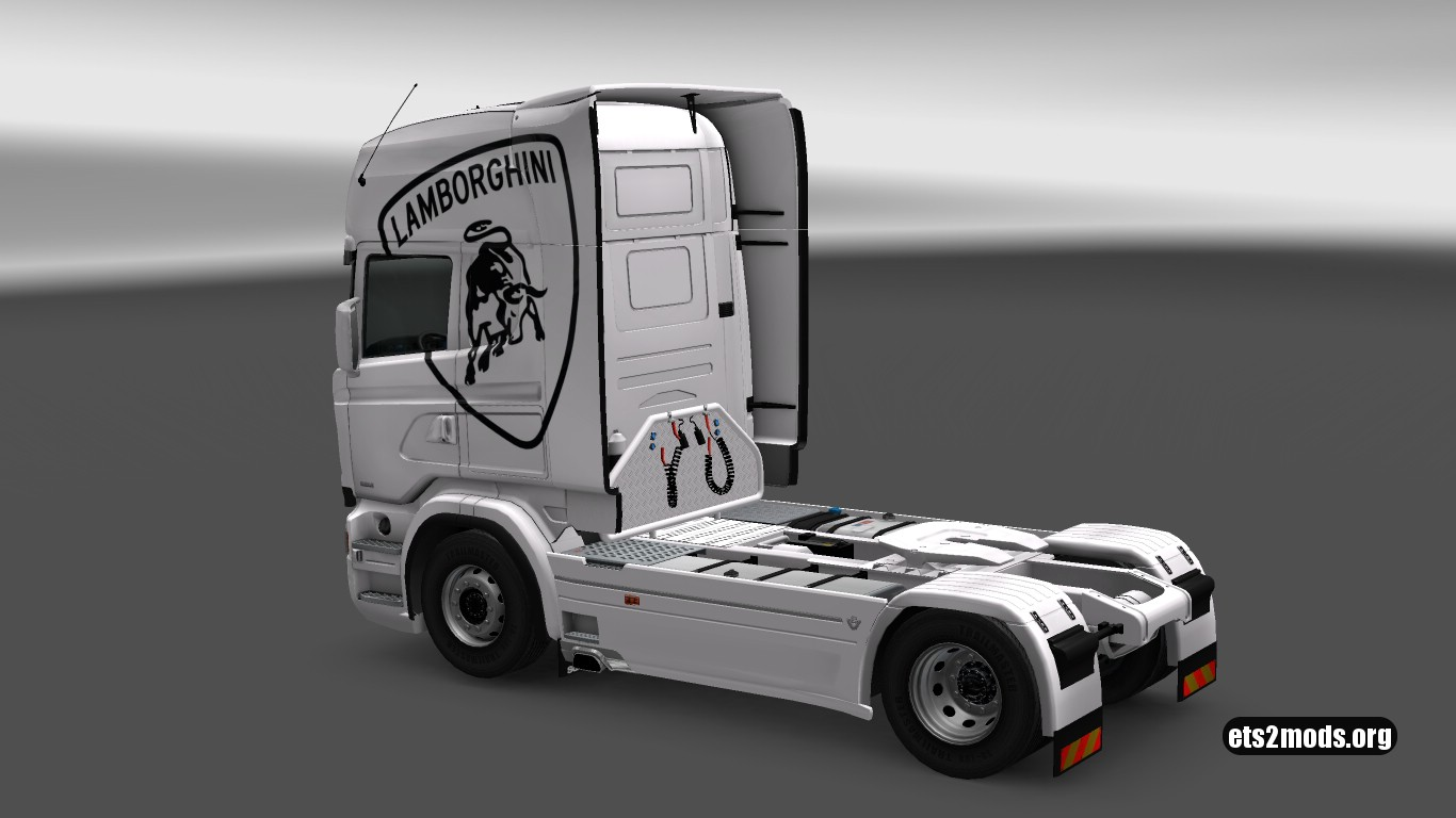 Lamborghini Skin for Scania RJL