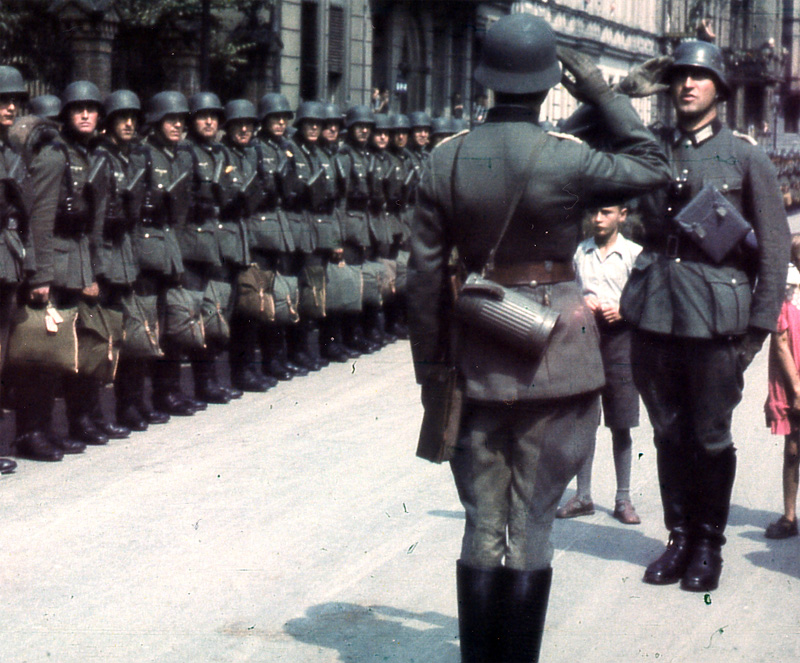 German Soldiers, 1941.