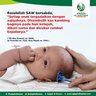 Cara Mencukur Rambut Bayi dalam Islam