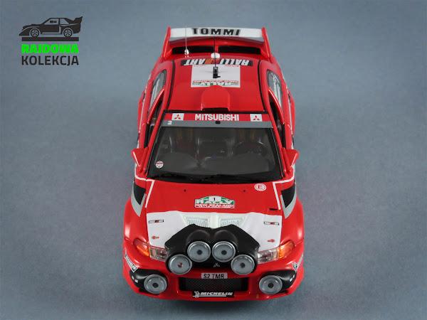 IXO RAM511 Mitsubishi Lancer EVO VI Rally New Zeland