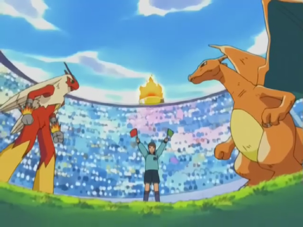 Pokemon episodes johto league final in hindi : Happy ending