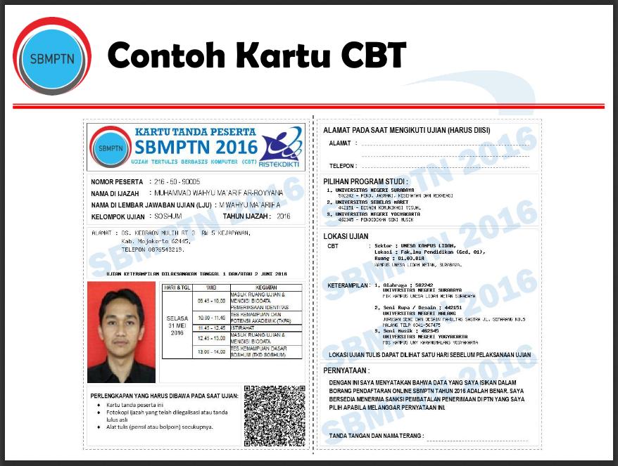 Pendaftaran Online Sbmptn Ac Id Peserta Reguler 2019 2020