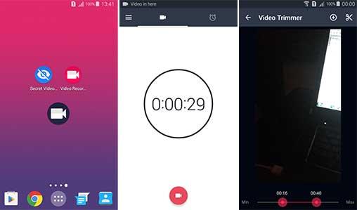 background video recroder