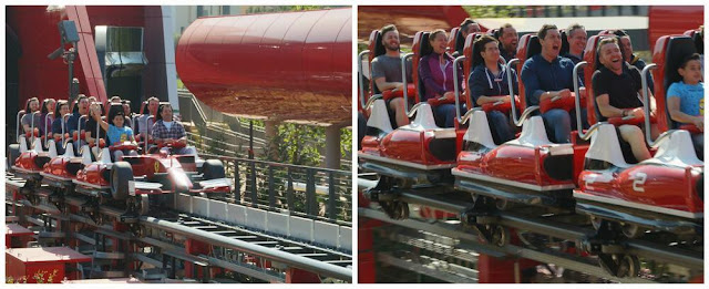 vagon red force de ferrari land