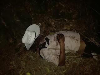 Encuentran a ejecutado en Misantla