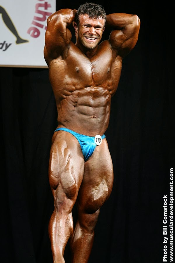 Former Emerald Cup Overall Champion, IFBB Pro, Nate D'Tracy