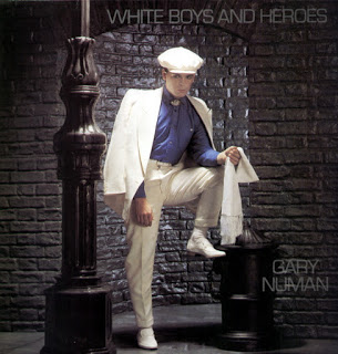 Gary Numan - White Boys and Heroes okładka singla