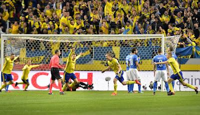 Italia Kalah Dari Swedia Dalam Leg 1 Playoff Piala Dunia 2018