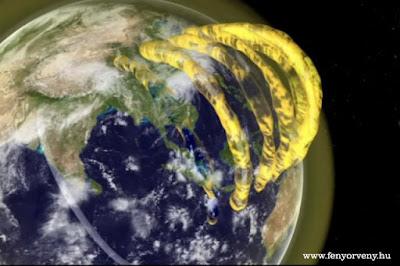 Hatalmas plazmaszerkezetek veszik körül a Földet