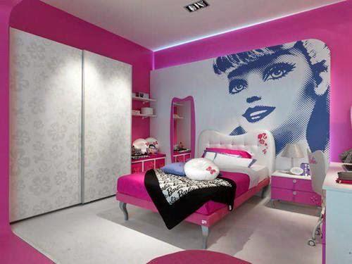 decoración cuarto barbie