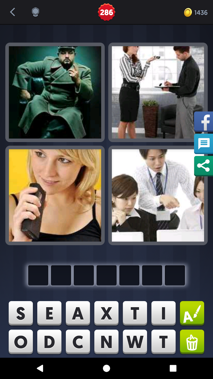 4 pics 1 word answers solutions level 286 dictate keyword 7 letter word black record dictate expocarfo Gallery