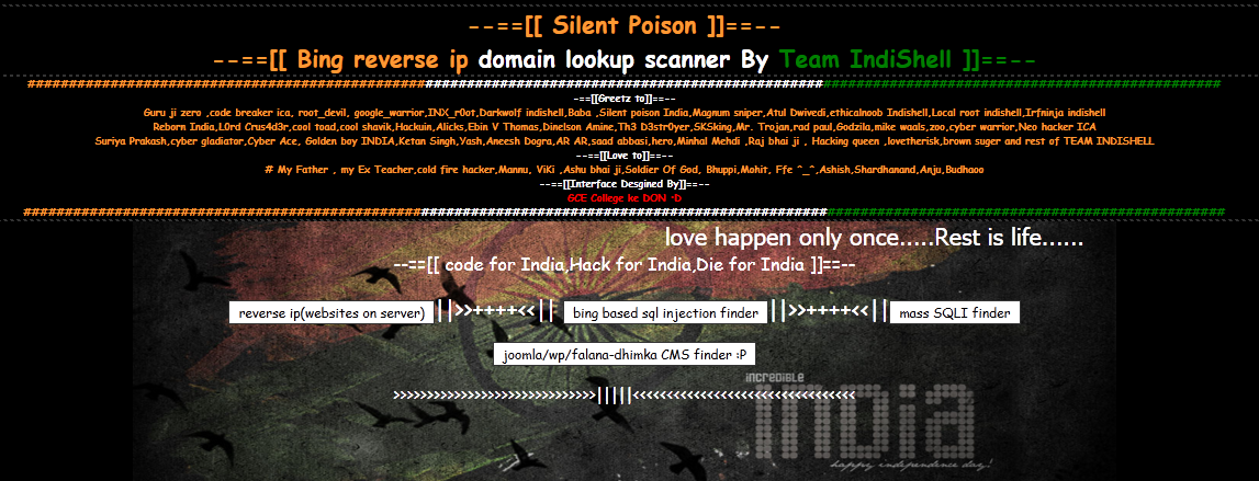 Silent Poison, bing based scanner | Start With Linux | Mannu Linux