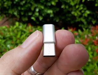 Sambungan Charger Converter Blackview Micro USB To Type-C Original Blackview