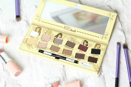 The Balm Nude 'Tude Palette - Review, Swatches & Tutorial