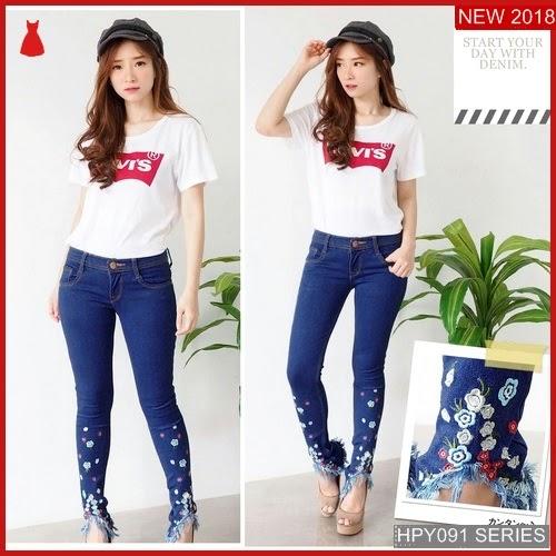 HPY091C150 Clara Embroidery Anak Pants Murah BMGShop