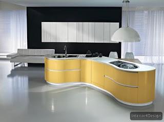 Round Countertop Kitchen 9