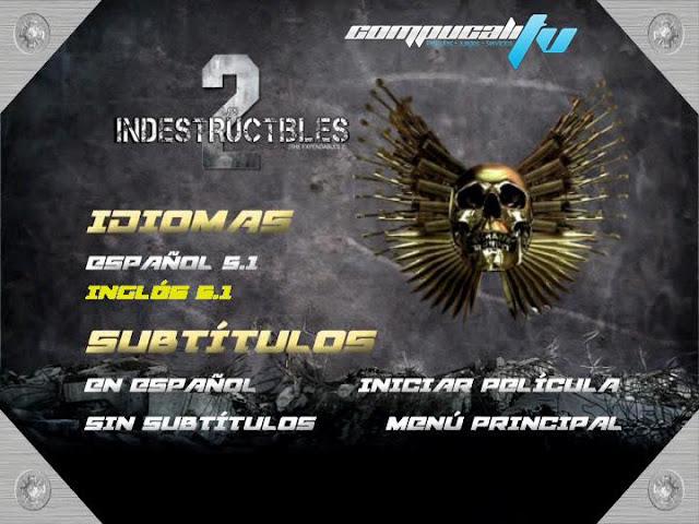 Los Mercenarios 2 DVDR NTSC Español Latino Menu Full 2012